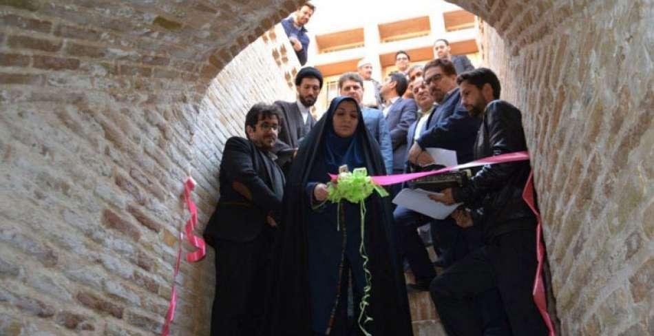 افتتاح گنجینه و محور گردشگری زیرزمینی قنات بهاءالدین آباد در اردکان