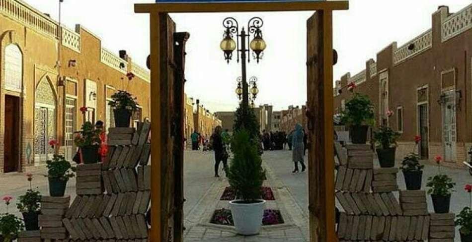 نمایشگاه صنایع دستی در گذر فرهنگ و هنر یزد