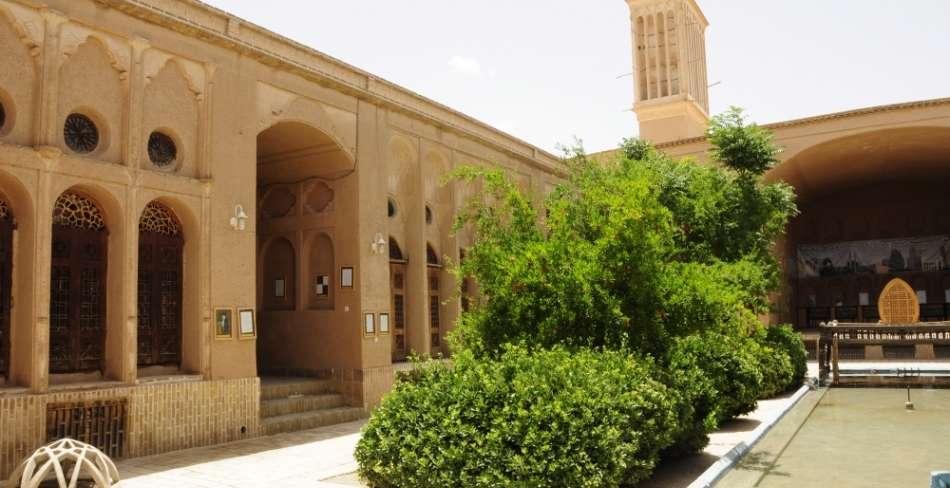 معماری خانه های سنتی یزد