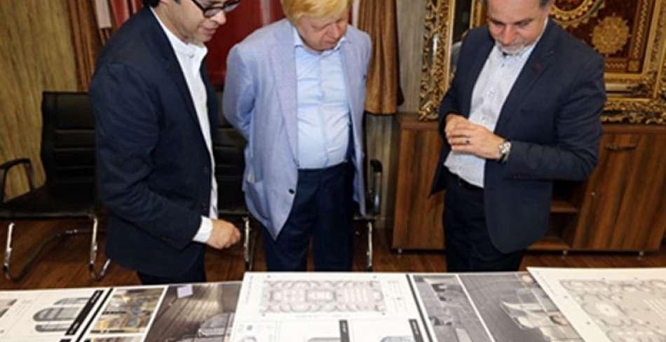 داوری آثار مسابقه طراحی غرفه ایران در نمایشگاه گردشگری