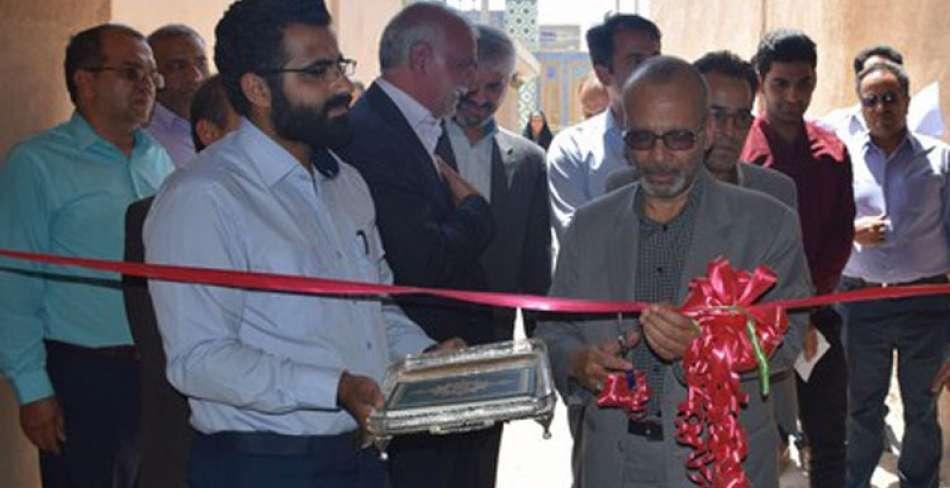 افتتاح پروژه های مشارکتی میراث فرهنگی و شهرداری میبد