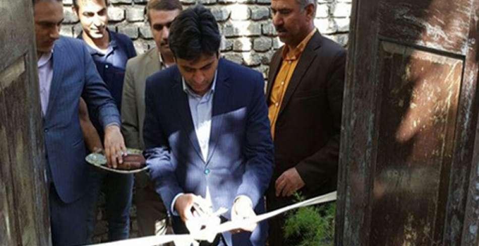 افتتاح اقامتگاه بومگردی بی بی گل در بافق