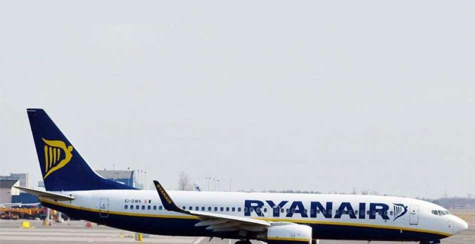 توقیف هواپیمای بوئینگ رایانایر در فرانسه