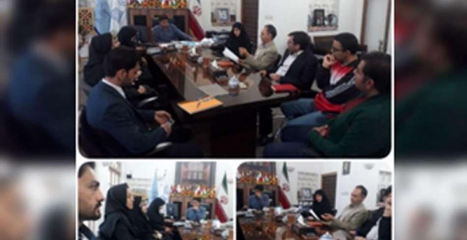 جلسه هماهنگی کمیته گردشگری طبیعت در یزد
