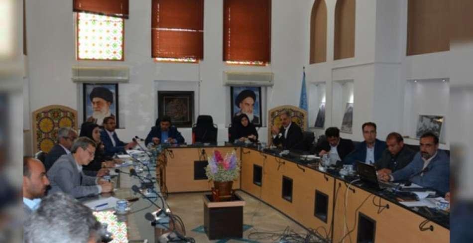 جلسه تولید و اشتغال میراث فرهنگی یزد
