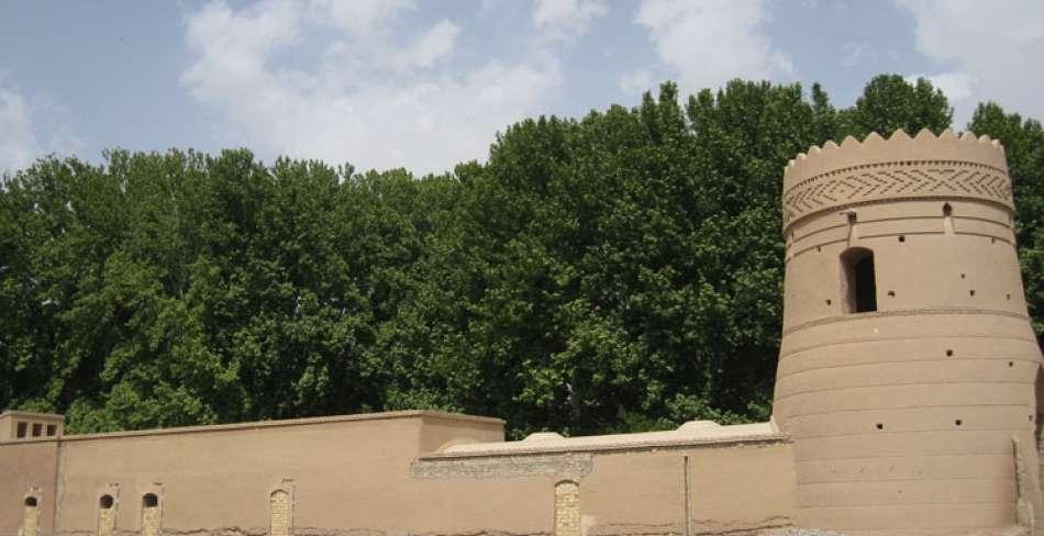 ثبت ملی باغ شهر تاریخی مهریز