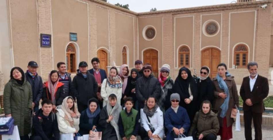یزد ؛ میزبان فعالان حوزه فرهنگی چین