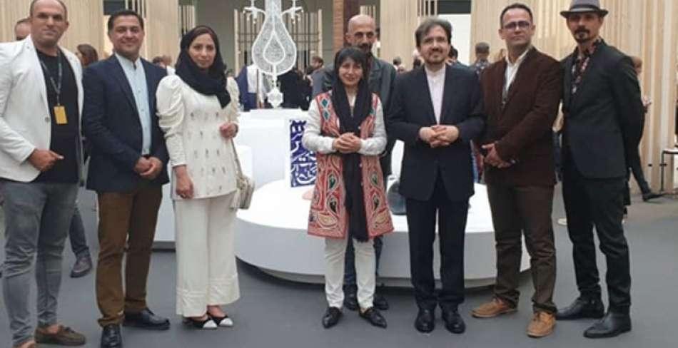 هنرمندان ایرانی در نمایشگاه فرانسه