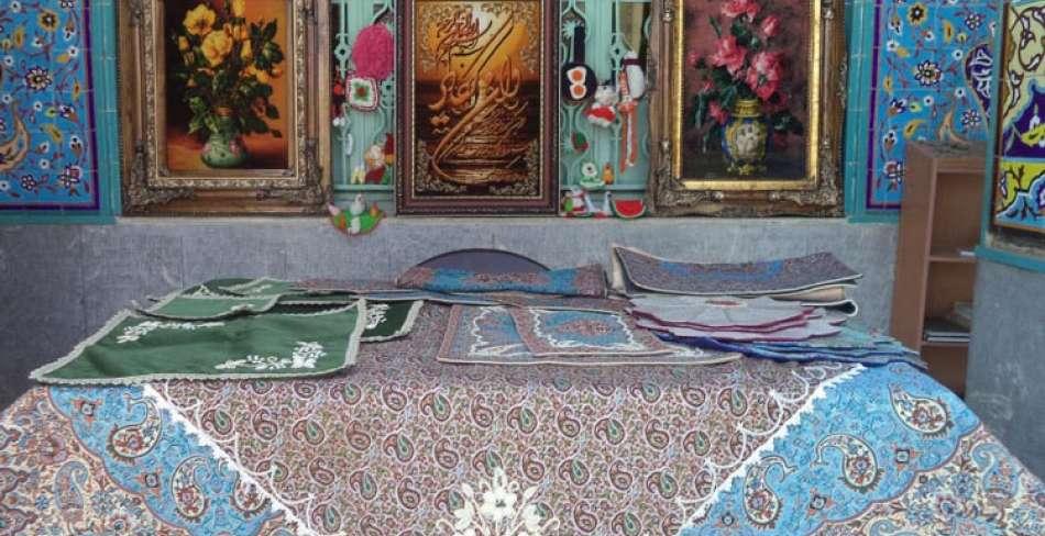 اولین ماه بازار صنایع دستی بافق