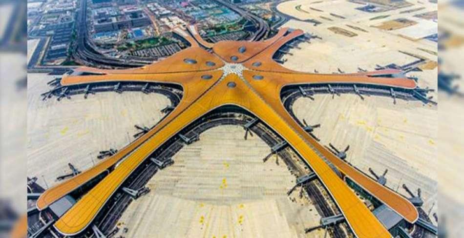 افتتاح فرودگاه جدید پکن