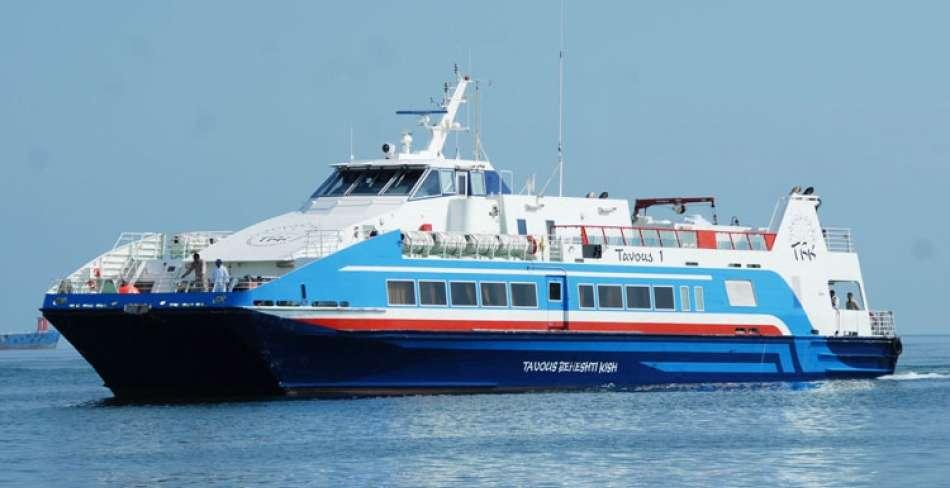 اولین تور دریایی بوشهر به قطر