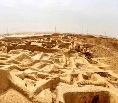 کشف گورهای باستانی، در شهر سوخته زابل