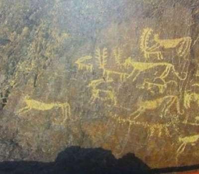 کشف نقوش 5 هزار ساله در میمه اصفهان