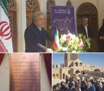 افتتاح فاز نخست پردیسان ابرکوه با حضور معاون رئیس جمهوری