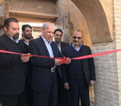 افتتاح طرحهای گردشگری میبد با حضور معاون رییسجمهوری