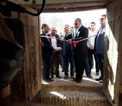 افتتاح کاروانسرای مروست