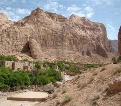 احیای مدرسه متروكه برای توسعه گردشگری بهاباد