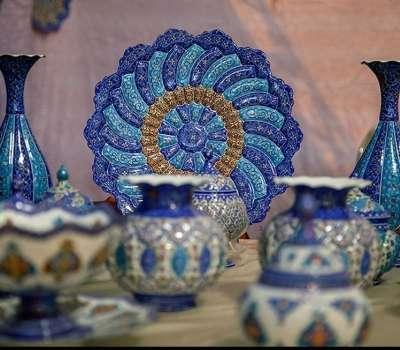 نمایشگاه آرتیجیانا ۲۰۱۸ میزبان هنرهای سنتی ایران