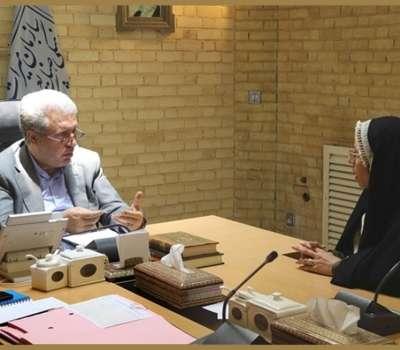 ملاقات حضوری رئیس سازمان میراثفرهنگی با مردم