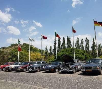 کاروان گردشگری خودروهای کلاسیک هلند در تبریز