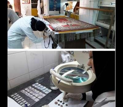 عملیات حفاظت و مرمت 600 سکه تاریخی در یزد