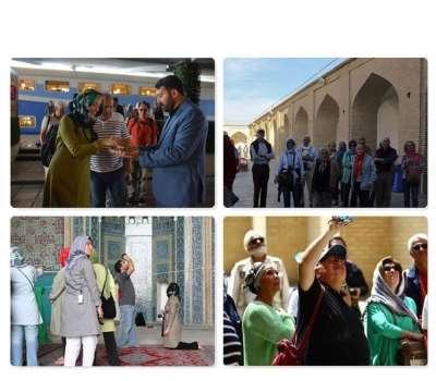 یزد سومین استان در جذب گردشگر خارجی