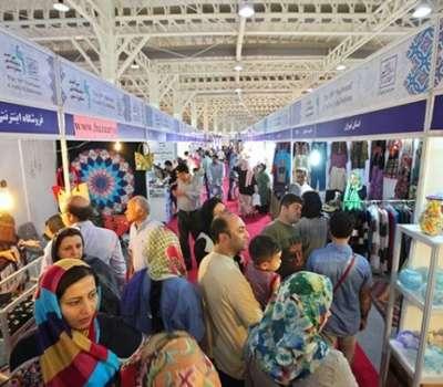 حضور فعالان صنایع دستی یزد در نمایشگاه ملی صنایع دستی