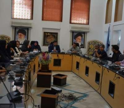 نشست یازدهمین نمایشگاه صنایع دستی یزد