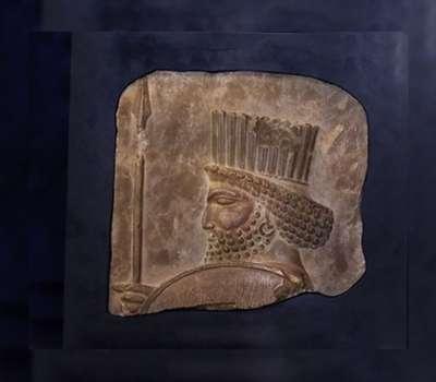 مشهد ، نخستین مقصد نمایش نقش برجسته سرباز هخامنشی