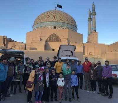 آشنایی کودکان یزدی با سبک های زندگی