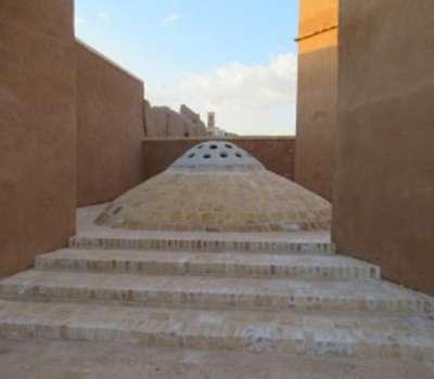 مرمت آب انبار محله آبشور یزد