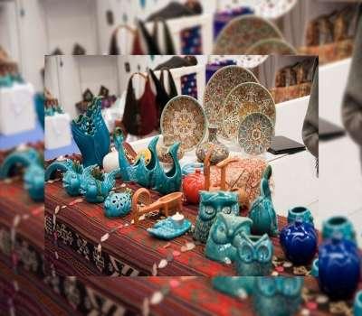 یازدهمین نمایشگاه سراسری صنایعدستی در فارس