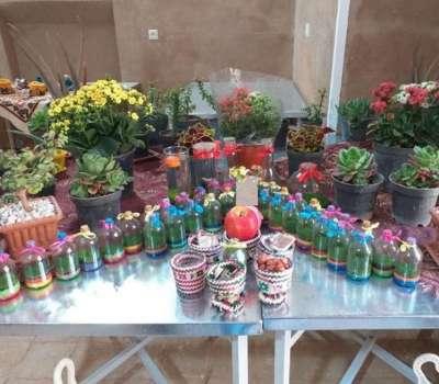 نخستین نمایشگاه صنایع دستی ویژه هفت سین در بافق