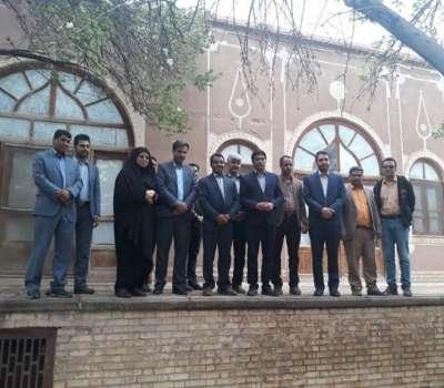 افتتاح بوم گردی یادگار پدری در مهریز