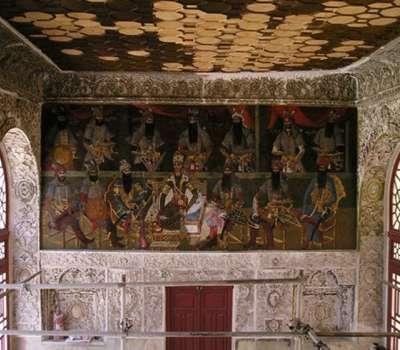 کشف آثار تاریخی در کاخ سلیمانیه