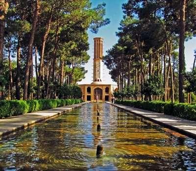 باغ دولت آباد ، پایلوت گردشگری الکترونیک