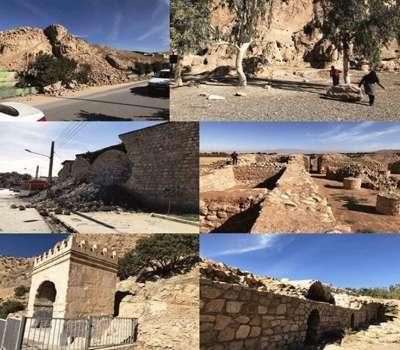 رد پای زلزله بر آثار تاریخی کرمانشاه