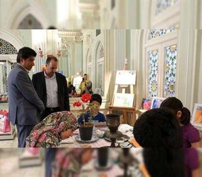 نمایشگاه و ورکشاپ نقاشی کودکان در یزد