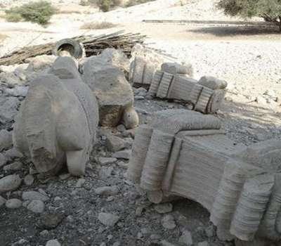 کشف شهر باستانی اشکانی ـ ساسانی در پس کرانه های خلیج فارس