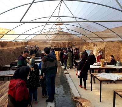 راه اندازی موزه رستوران قنات در کنار باغ پهلوانپور