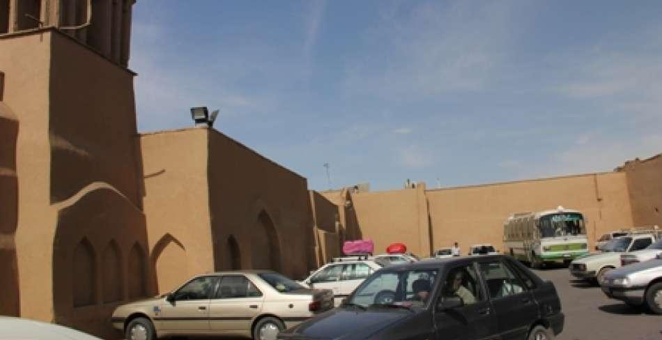 پارکینگ كنار مسجد جامع یزد