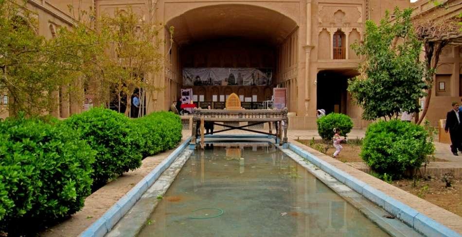 خانه لاری ها یزد ( موزه اسناد تاریخی یزد )