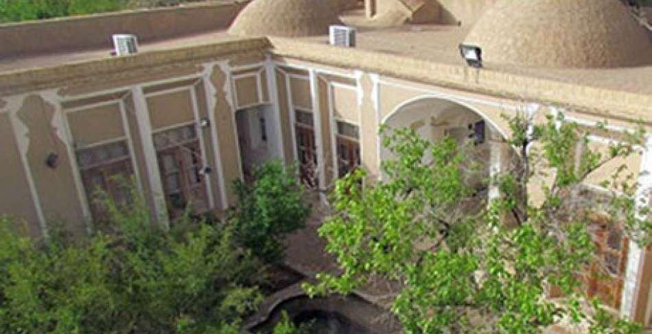خانه اربابی یزد (بخشی از باغ معین)