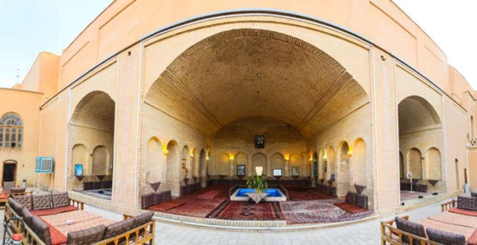 رستوران خانه ابراهیمی یزد