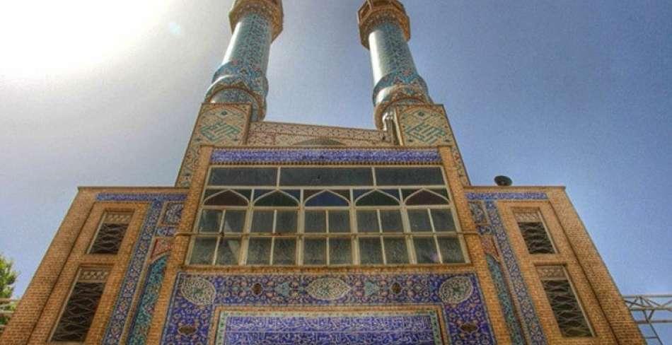 مسجد حظیره یزد ( روضه محمدیه )