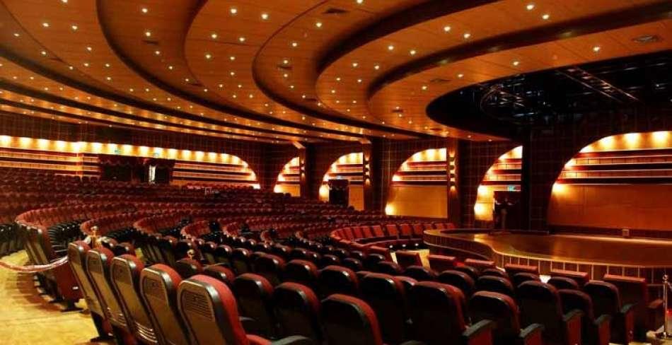 سالن های آمفی تئاتر و فرهنگسراها
