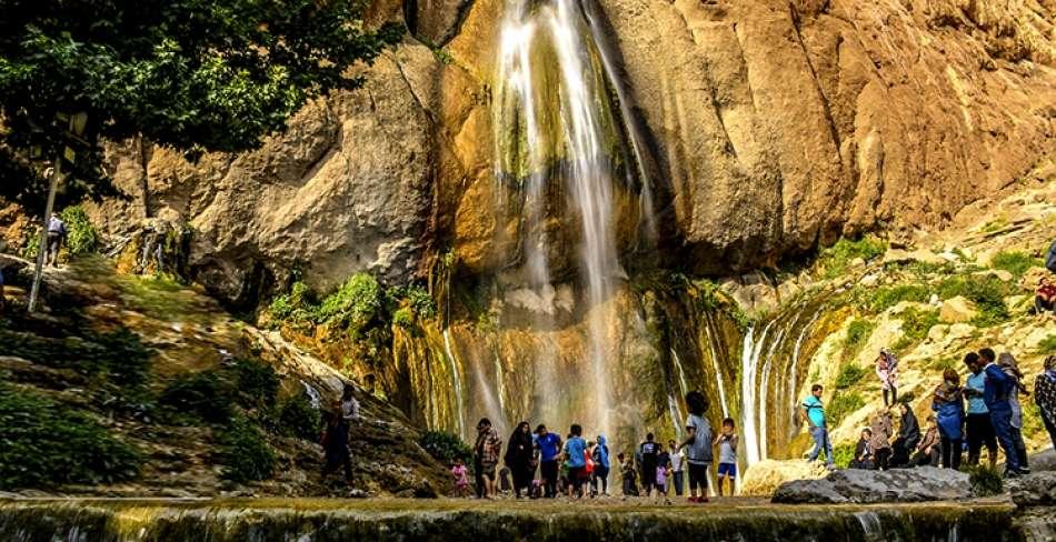 تور آبشار سمیرم از یزد